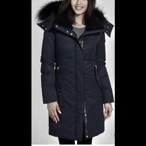 Mackage black Kerry Down Parka.